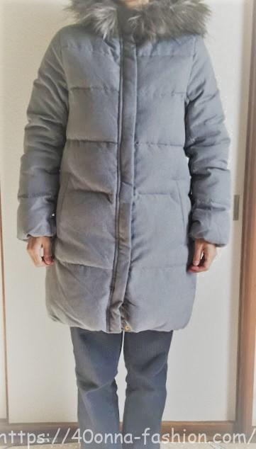 丸八ダウン3WAYミドルファーダウンコートが暖かい!