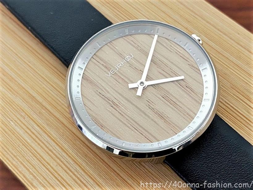 VEJRHØJ(ヴェアホイ) 木製腕時計