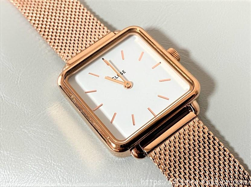 ラ・テトラゴン 腕時計
